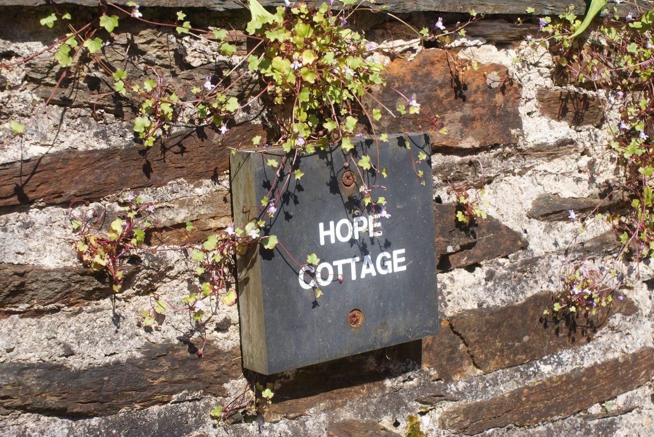 Hope-Cottage-Sign